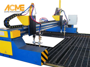 4m Gantry Type Metal CNC Flame Cutting Machine