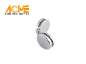 Modern Shower Door Hardware Circle Hinge Glass To Glass