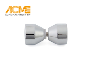 Home Shower Door Hardware Chrome Brass Knob