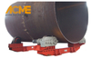 150T Industrial Large Adjustable Welding Rotator For Tank